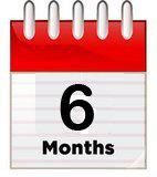 2-5 stores - 6 Month Membership