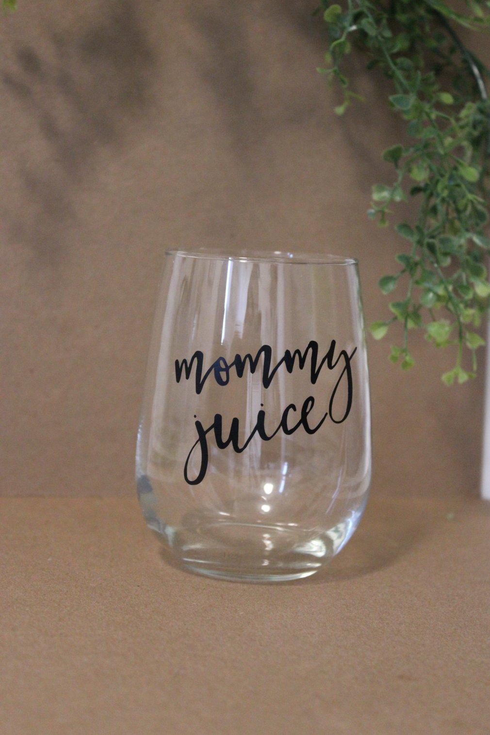 Wine Glass - Mommy Juice 00142