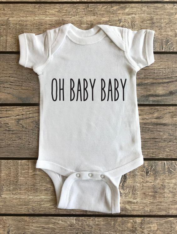 Oh Baby Baby | Baby Onesie 00184