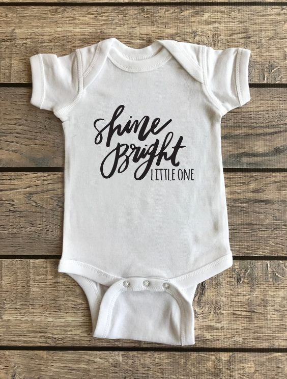 Shine Bright Little One | Baby Onesie 00185