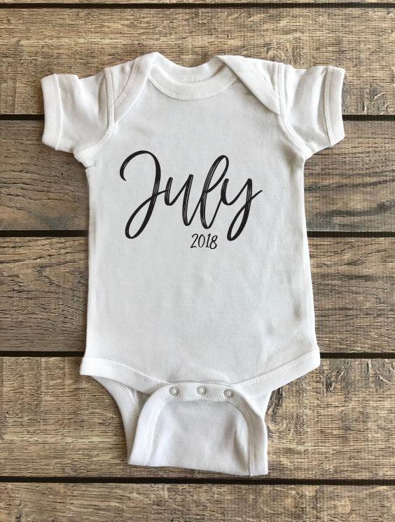 Baby's Month | Baby Onesie