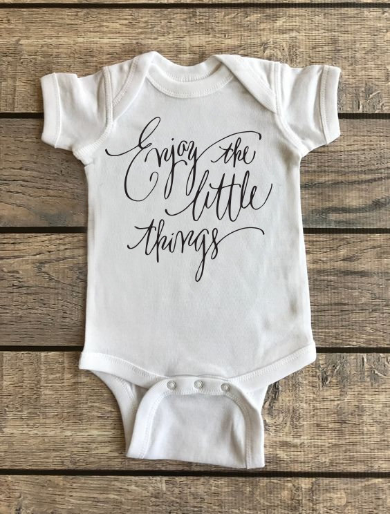 Enjoy The Little Things | Baby Onesie