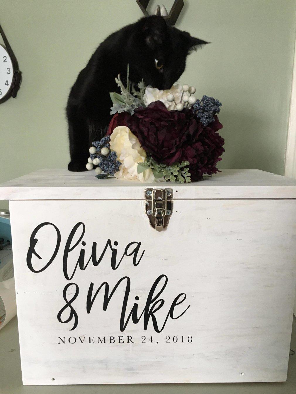 Wood Card Box | Weddings