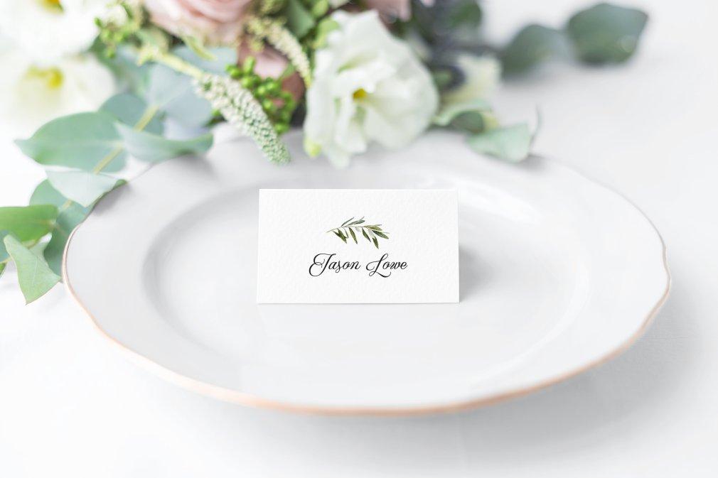 Eucalyptus Place Cards 00244