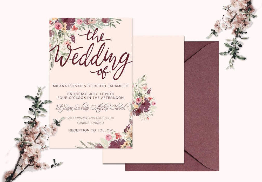 Marsala Invitations 00252