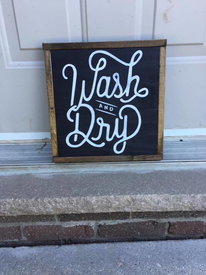 """Wash & Dry"" 