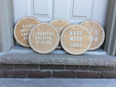 Faux Cutting Boards | Wood Signs