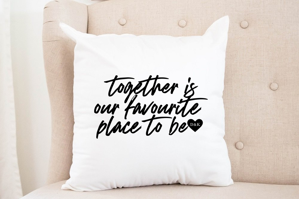 """""""Together is our favourite place to be"""" 