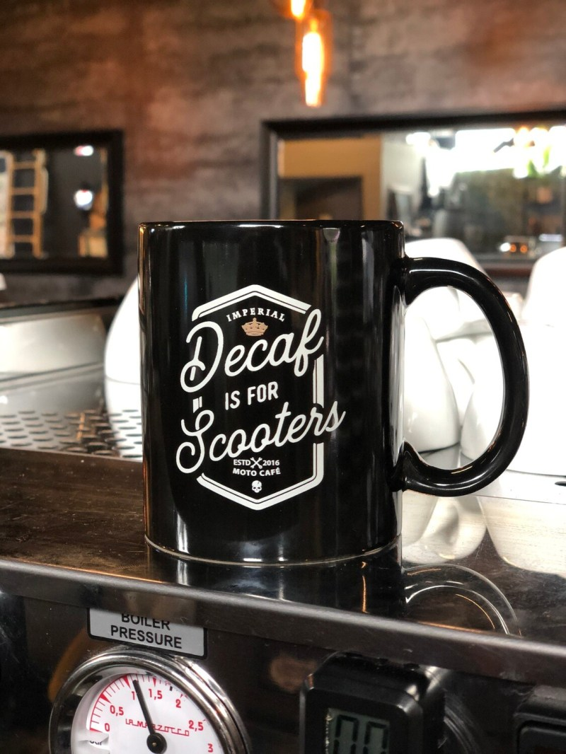 Decaf is for Scooters