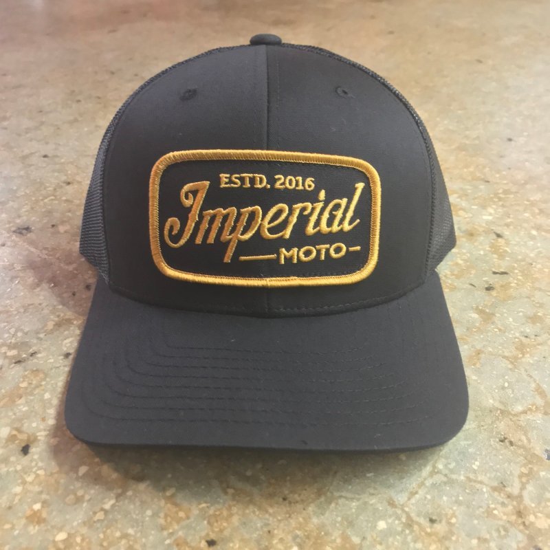 Imperial Moto Trucker - Black IMH1