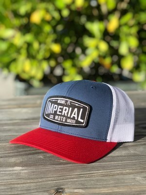 Imperial Moto 2.0 Trucker - RED, WHITE, and BLUE