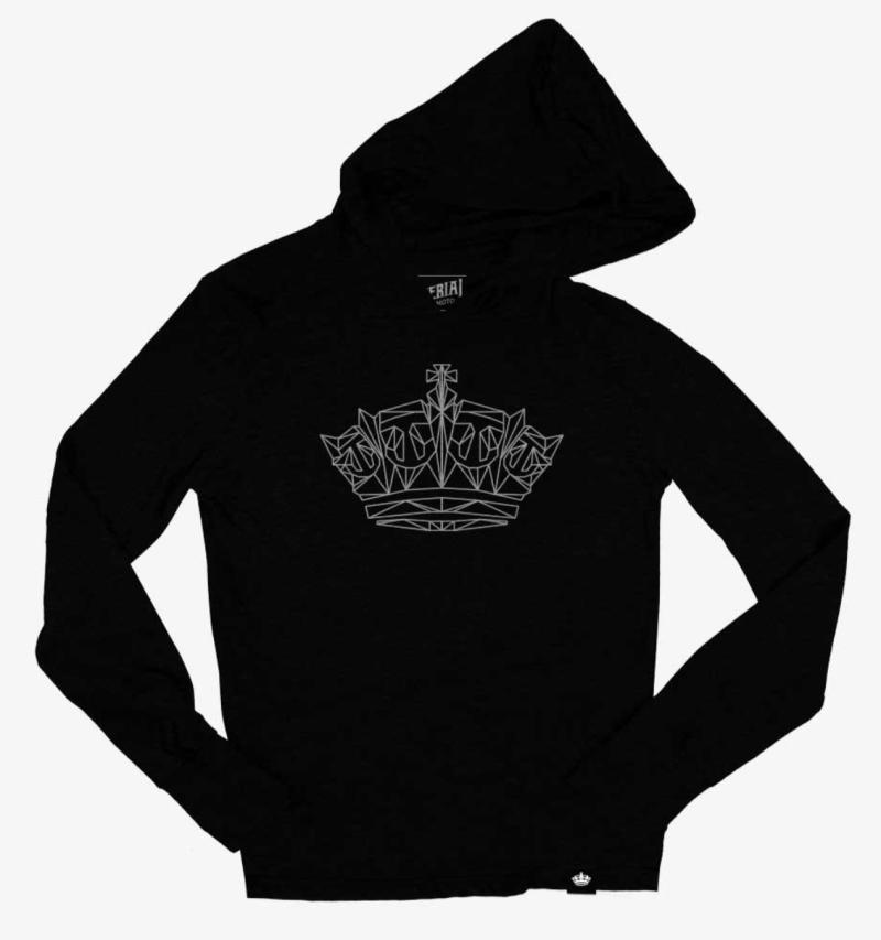 Imperial Geometric Crown Hoodie 00007