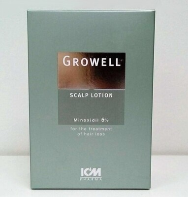 Growell 5% Scalp Lotion (100ml)