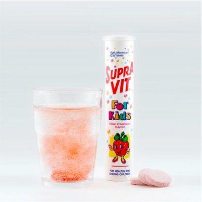 SupraVIT for Kids + Calcium Effervescent Tablet (20 Tabs)