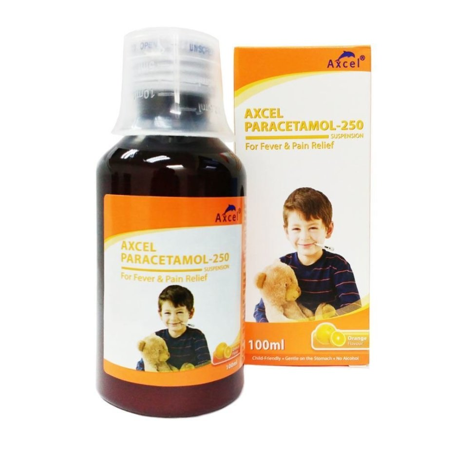 Axcel Paracetamol 250mg/5ml Syrup (1 bottle) paracet20