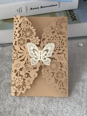 Invitaciones con Mariposa