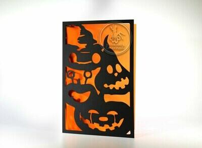 DIY Sobre de Corte Laser Doblez Halloween-1318-03