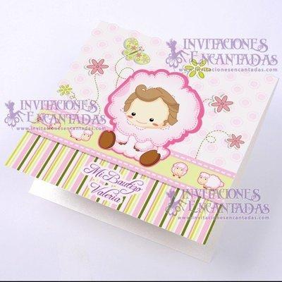 Invitación Bautizo BabySimple 01