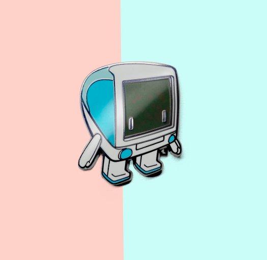 iBot G3 Enamel Pin