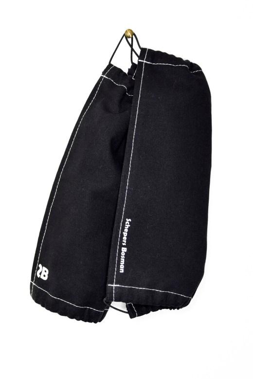 SCHEPERS BOSMAN FACEMASKS 2-PACK | Black or Light Grey Blue