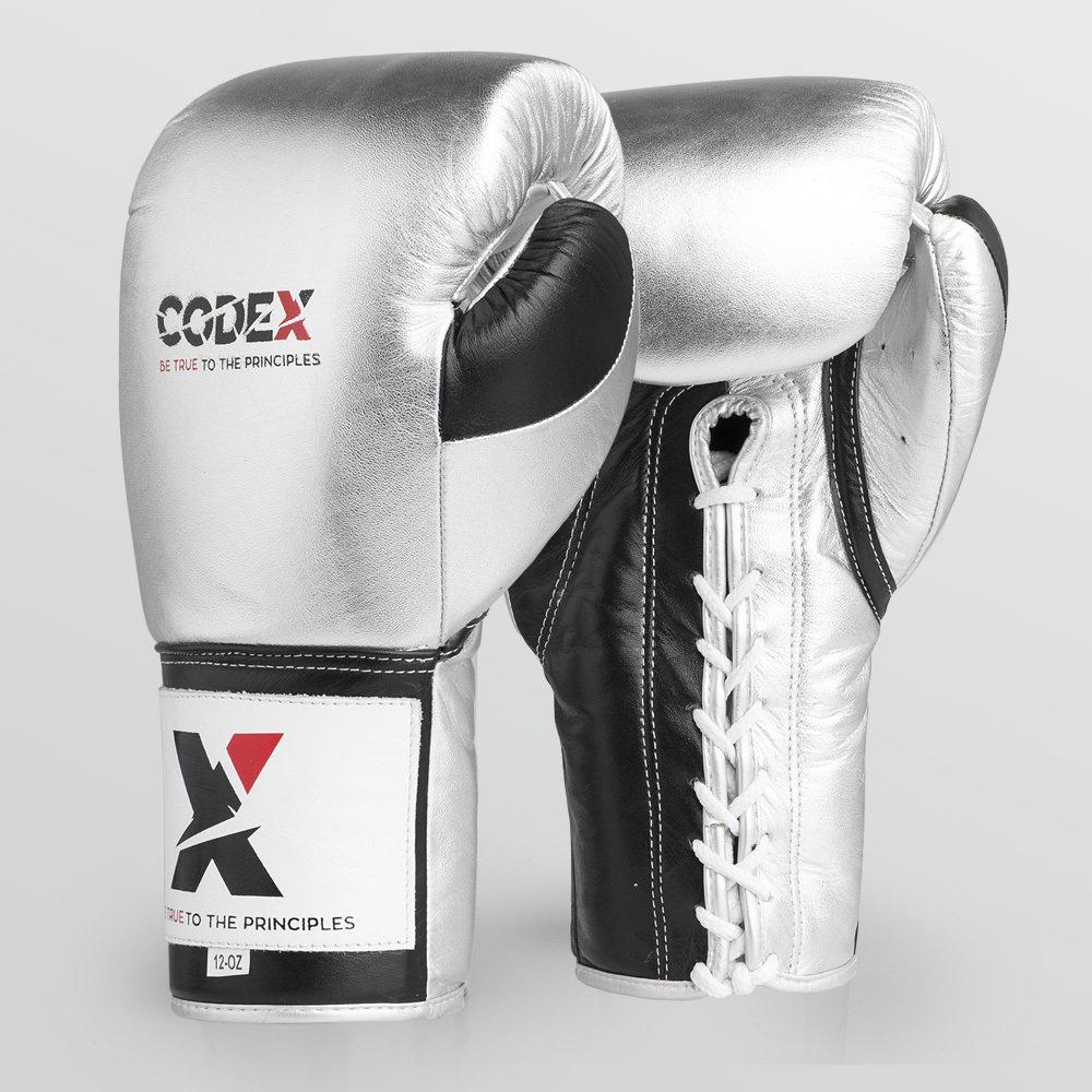 Codex ELITE Pro Fights Gloves Silver 92OTCD18SL030201