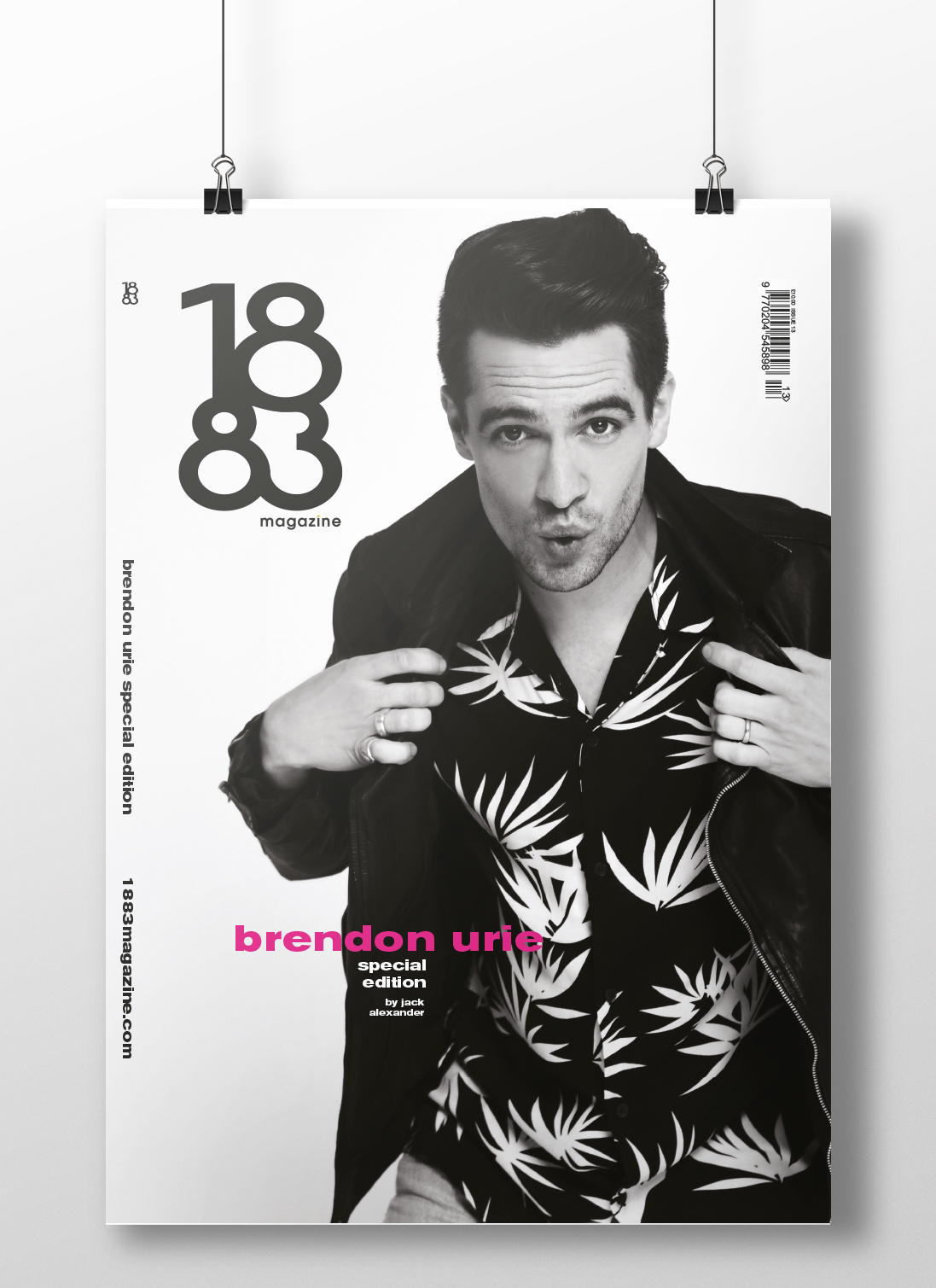 Brendon Urie cover poster P1