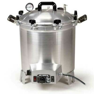 All American 41 Quart Benchtop Sterilizer - 240 volt - Get $50 Gift Credit with Purchase (see below)
