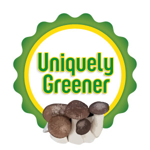 Uniquely Greener Black Pearl King Mushroom Grow Kit