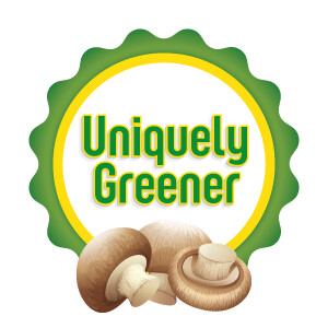 Uniquely Greener Chestnut Mushroom Grow Kit