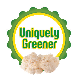 Uniquely Greener Lion's Mane Mushroom Grow Kit