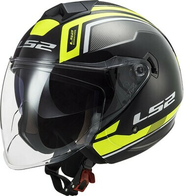 CASCO LS2 JET OF573 TWISTER II col. FLIX