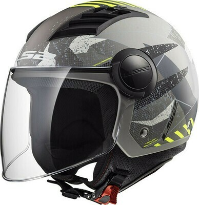 CASCO LS2 JET OF562 AIRFLOW col. CAMO