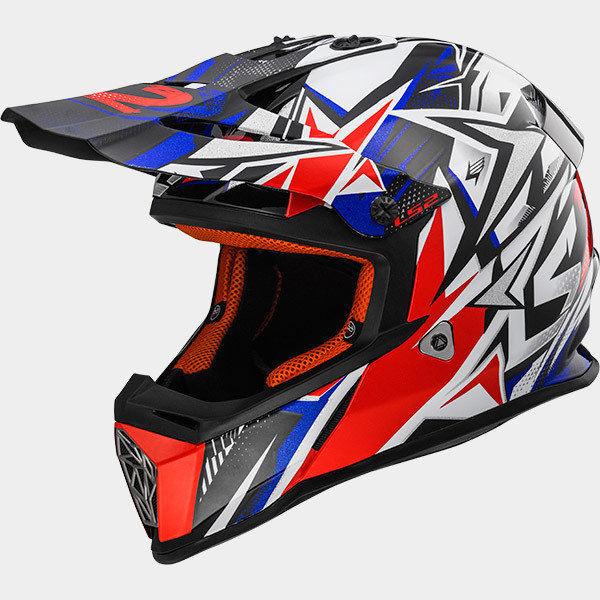 CASCO LS2 CROSS MX 437 JUNIOR STRONG
