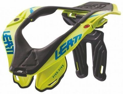 COLLARE LEATT NECK BRACE 5.5 LIME tg. L/XL