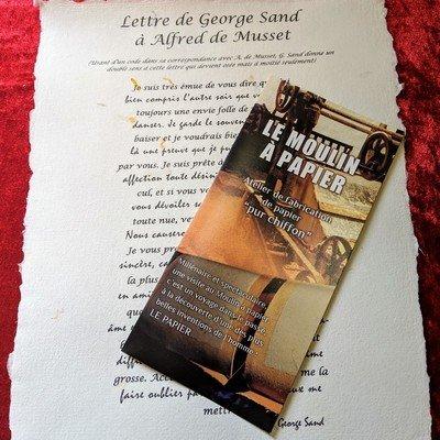 Lettre de George Sand