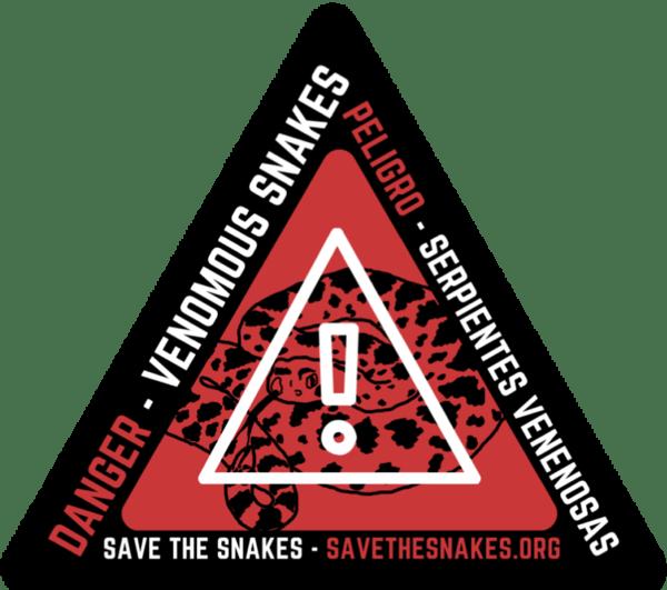 Venomous Snake Sticker