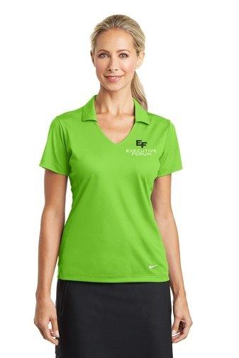 Nike Ladies Dri-FIT Vertical Mesh Polo