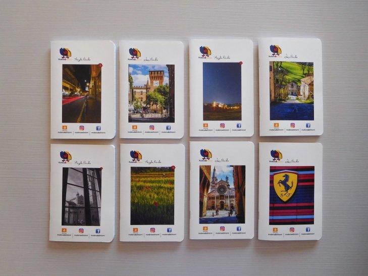 Agendine varie serie limitata di Modena&Dintorni