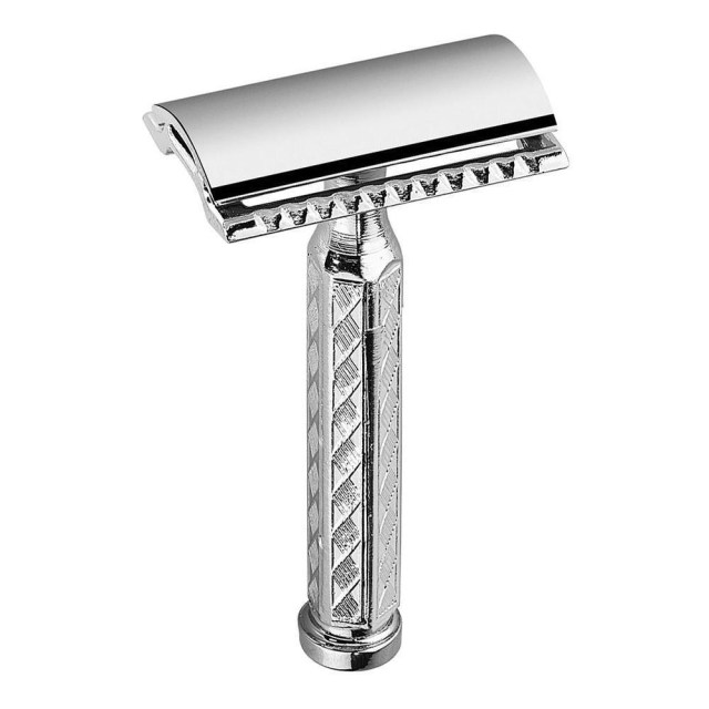 Merkur 42C. It is a gentle and efficient razor with a nostalgic touch! Great for beginners! Lowest price on the web.