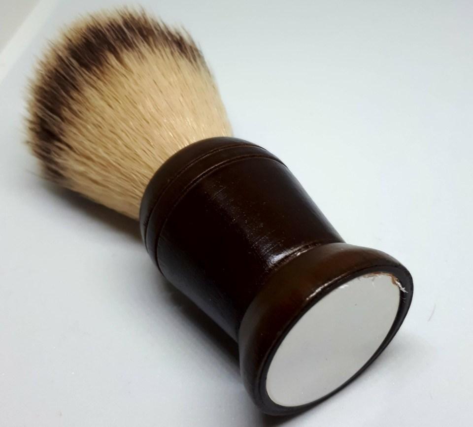 Barista Mirrored Travel Shave Brush