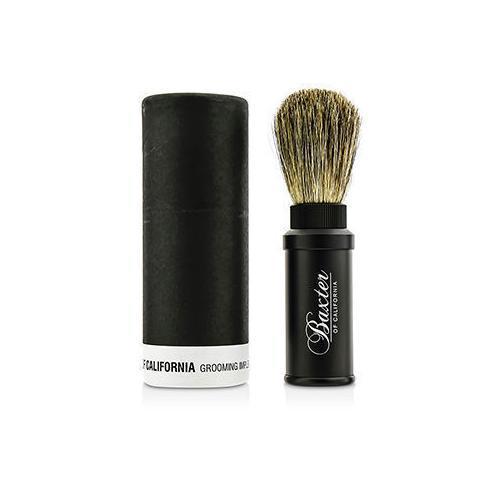Aluminum Travel Shave Brush  1pc M796-19224114121
