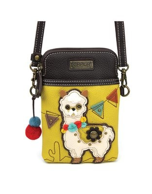 Chala Cell Phone Crossbody Llama