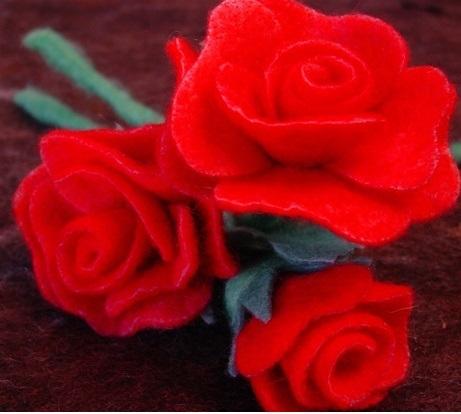 Felt A Rose 17836
