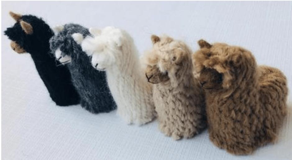 Suri Baby Alpaca Ornaments 18346