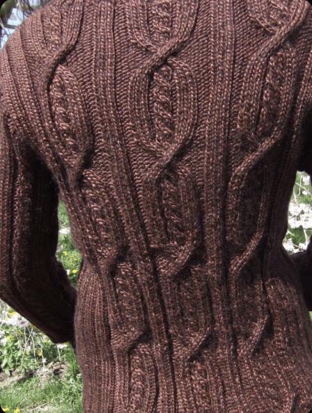 Snowpea Sweater Pattern 18386