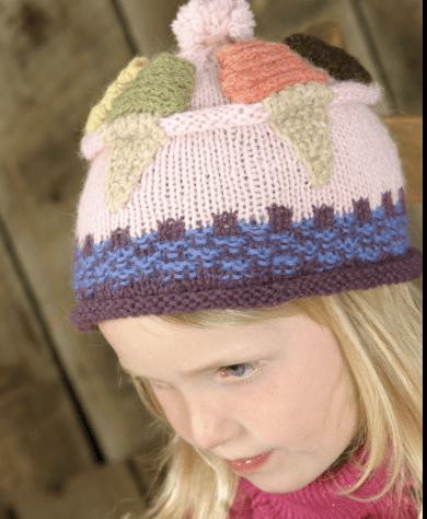 Frosty Flavors Hat Pattern 18398