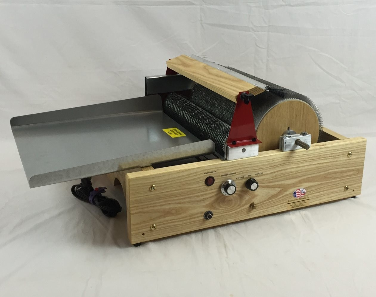 Mad Batt'r Motorized Drum Carder - Double Wide Chain Drive