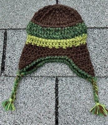 Handmade Alpaca Chullo Hat - 6-12 Months