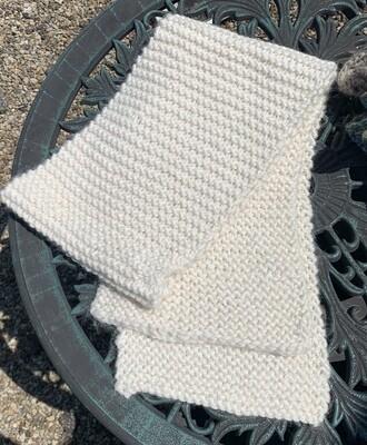 Bulky Knit Snuggle Scarf