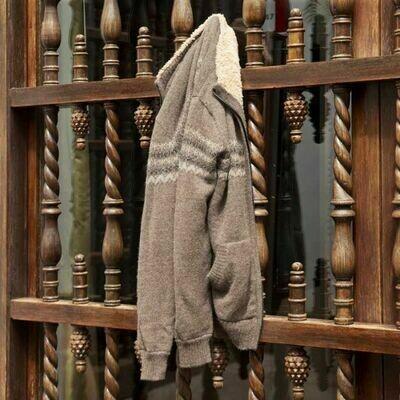 Men's Fleece Lined Alpaca Sweater
